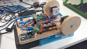 Metabot2 Motor test chassis