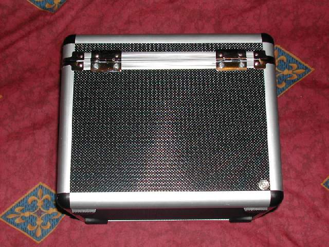 LED module in 120CD DJ case